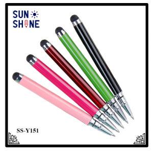 최신 판매 접촉 스크린 첨필 볼펜 승진 금속 펜