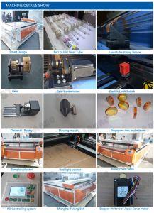 CO2 лазерной гравировки и резки машины для резки древесины из натуральной кожи и т.д.