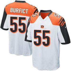 2018 Camo салют для обслуживания Джерси Vontaze Burfict Bengals футболках Nikeid 55