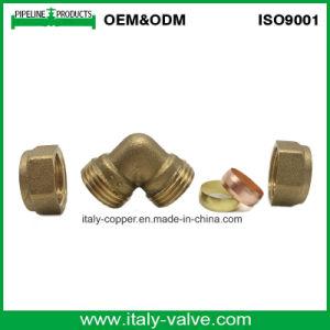 OEM&ODM Qualitätsmessing schmiedete Komprimierung-gleichen Krümmer (AV7008)