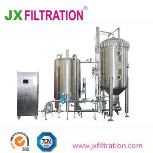 Diatomite filtro utilizado na filtração de Bebidas
