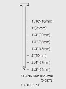 St64 het Op zwaar werk berekende Concrete Kanon/de Spijkermaker van S.S Nail van het Roestvrij staal van het Blad van het Metaal