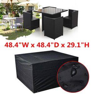 Cubierta impermeable de la lluvia de los muebles del jardín para sus sistemas del patio