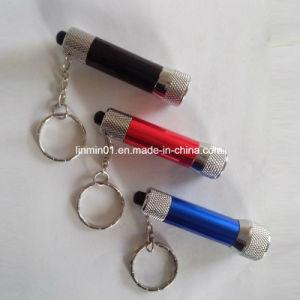 LEIDEN van de douane Aluminium 3 Flitslicht met Keychain voor de Gift van de Bevordering