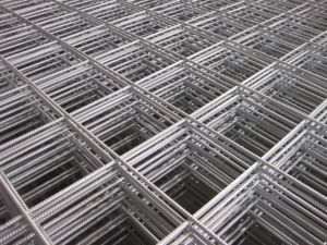 鋼鉄補強の溶接金網のパネル