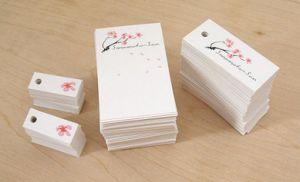 Nuevo diseño pendiente colgar etiquetas en Guangzhou