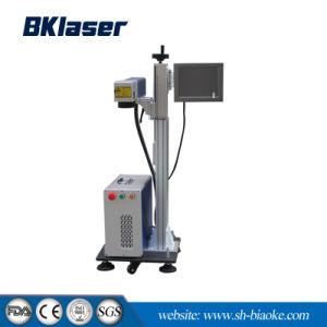 macchina inferiore 30W della marcatura del laser di volo della fibra di colore di prezzi 3D