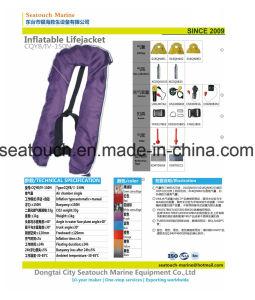 A Med Ce 275n vida insufláveis dupla câmara jaqueta colete de vida com cilindro de CO2