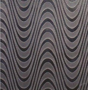 Strato impresso grano di legno dell'acciaio inossidabile