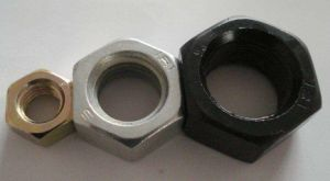 Écrou hexagonal en acier au carbone DIN934