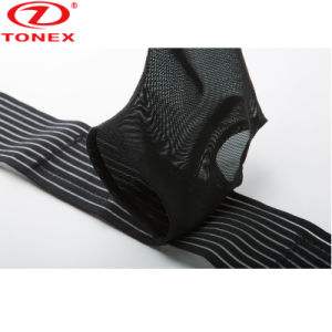 ゴムの調節可能な苦痛救助の足首サポート通気性のベルト