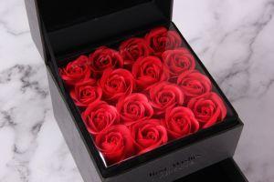 Custom Design Dezesseis Rose Jóias Caixa de oferta