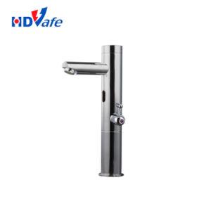 現代台所は洗面器のTouchless真鍮の自動センサーのサーモスタットのコックを設計する