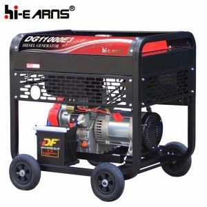 8kw de uso doméstico de tipo abierto arranque eléctrico Generador Diesel (DG11000E3).