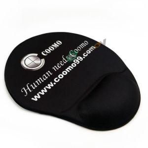 Impressão personalizada 3D Punho de Sílica Gel Preto Mouse pad de repouso