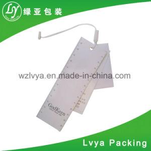 Suministro de la fábrica de papel personalizado colgar la ropa de Etiqueta para equipaje o Palo
