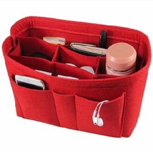 Les femmes à la mode Sac de maquillage/estimé Sac cosmétique Insérer le sac à main de l'organiseur