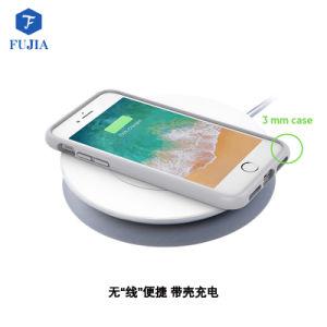 Qi Universal OEM personalizada Banco de energía inalámbrica móvil cargador inalámbrico rápido