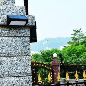 48 LED 800lm la energía solar al aire libre el radar de microondas de la luz del sensor de movimiento de la seguridad inalámbrica de la luz de pared Jardín