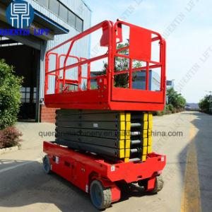 自動推進の電気は上昇によって運転される移動油圧人の揚げべらを切る
