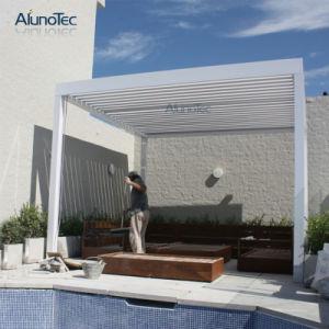 De professionele Goedkope Intrekbare Pergola's van het Aluminium met het ZijScherm van de Zon