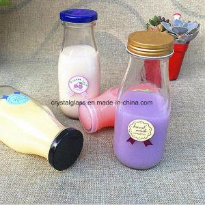 Frucht-Entwurfs-Drucken-Milch-Glas-Saft-Flasche