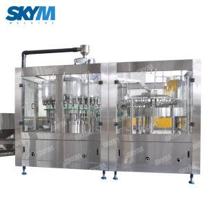 Água de nascente tornando os equipamentos de engarrafamento a linha de produção da máquina de enchimento