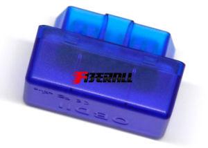 De auto OBD-II Lezer van de Code van het Probleem & Hulpmiddel van het Aftasten van de Auto het Kenmerkende, MiniType, Bluetooth 2.0, Blauwe, Plakkend Spaander