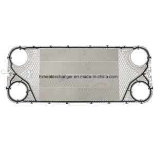 Ua20 304/316en acier inoxydable de la plaque de l'échangeur de chaleur