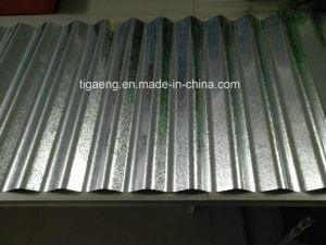Anti Corrossion ondulation recouvert de zinc Gi Feuille de toit en acier