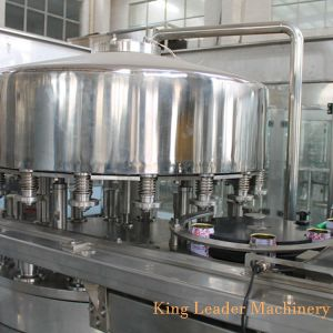 El Pop puede zumo natural de la máquina de embotellado de llenado en caliente