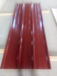 Il rivestimento d'acciaio trapezoidale/ha ricoperto prima il lamiera galvanizzato con lo strato del feltro