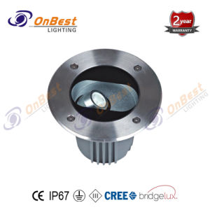 IP67の調節可能なライト12W LED地下ライト