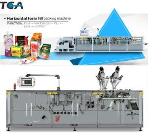 Sello de relleno de forma horizontal máquina de envasado automático de detergente en polvo
