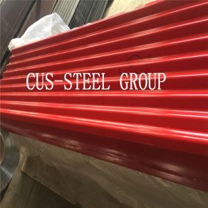 Strato d'acciaio preverniciato del tetto ondulato colore dell'Africa 0.15*665mm PPGI