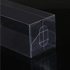 ボックスを折る生物分解性ペットPVC PPを包む透過明確なプラスチックケースの軽工業