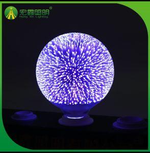 blaue des Heizfaden-3D Birne Lampen-magische dekorative Weihnachtsder lampen-LED 3D