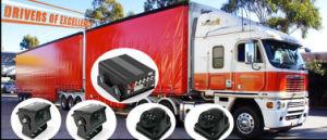 4 Kanal mobiler DVR eingebauter 4G WiFi G-Fühler für Flotten-Management