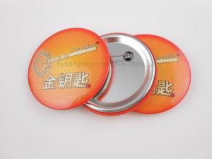 다채로운 기장 (GZHY-MKT-008)를 인쇄하는 주문 주석 단추 기장