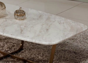 가정 가구 커피용 탁자 측 테이블 대리석 상단