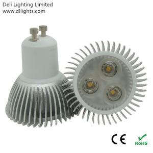 Dimmable 3W GU10 LED Spotlight mit CER und RoHS