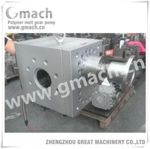 Bomba de engranajes de fundido de alta calidad para la máquina de extrusión de plástico