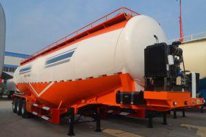 3 Wellen neu/verwendetes zweite Handmassenkleber-Becken/Kleber-Tanker/Puder-Becken/Puder-Tanker/Flugasche-Becken/Flugasche-Tanker-LKW-halb Schlussteil mit Kompressor-Motor-Aktien