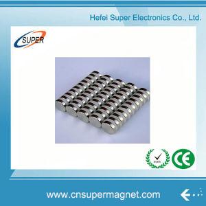 Мощные металлокерамические NdFeB N40 диск магнита