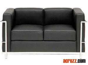 Moderne Cuir Banquet Salon Meubles Canapé Chaise longue Set –Moderne ...
