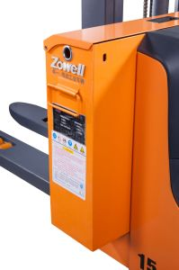 Zowell 1.5トンの電気スタッカー