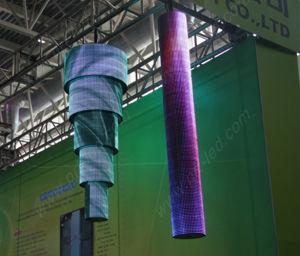Personnalisés P10 LED Flexible avec forme anormale de l'écran d'affichage