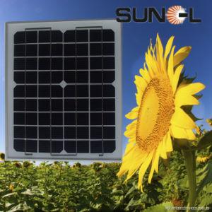 태양 가정 체계 (를 위한 10W 단청 태양 전지판 또는 단위 SNM-M10 (36))