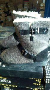 Zapatos de piel animal/nieve botas para mujer botas de mujer