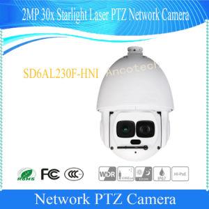De Videocamera van de Koepel van de Snelheid van de Laser van het Sterrelicht van Dahua 2MP 30X (sd6al230f-HNI)